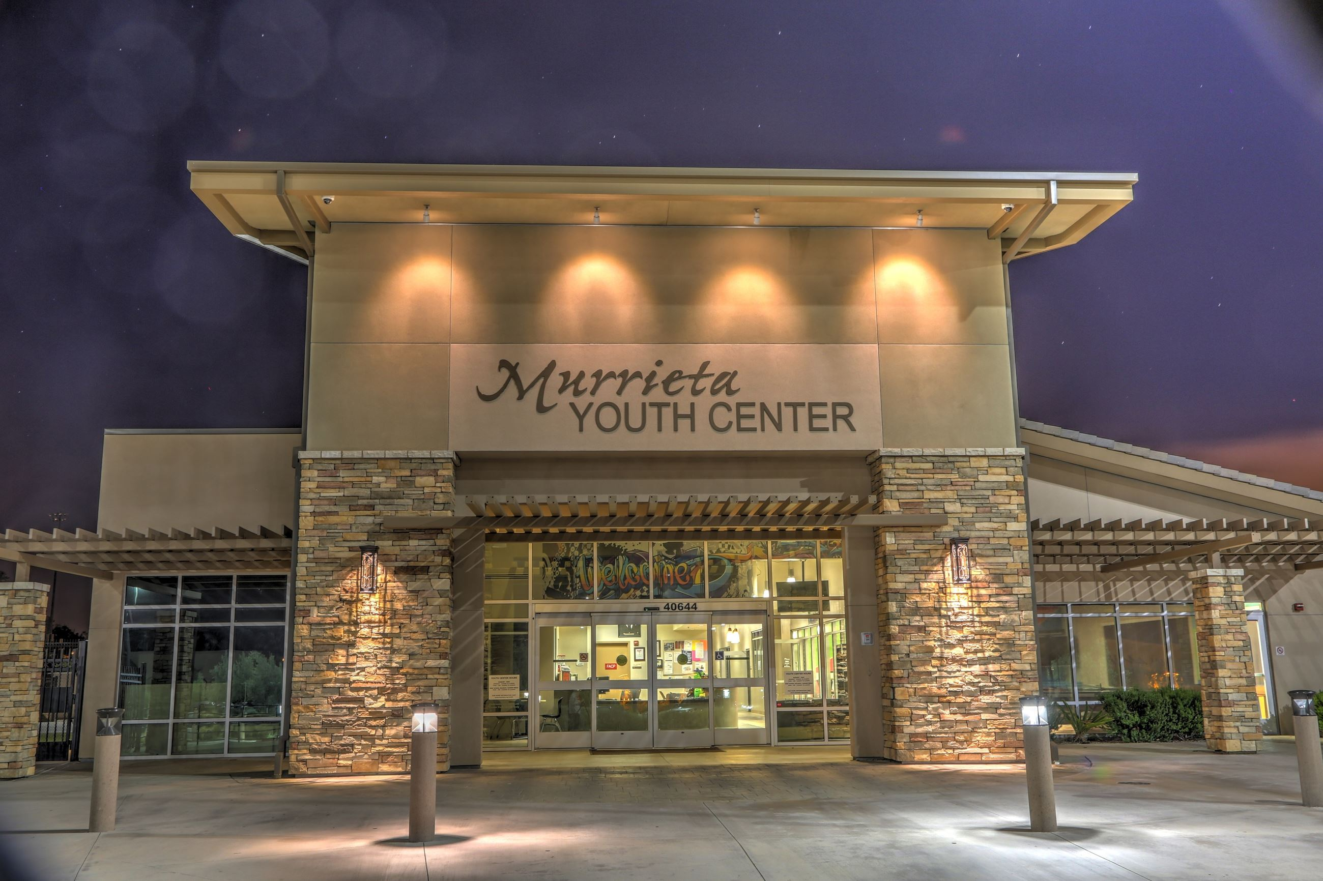 Exterior of the Murrieta Youth Center